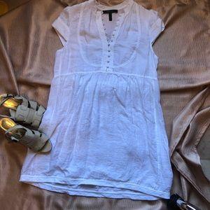 BCBG Max Azria White Mini Dress Size Small